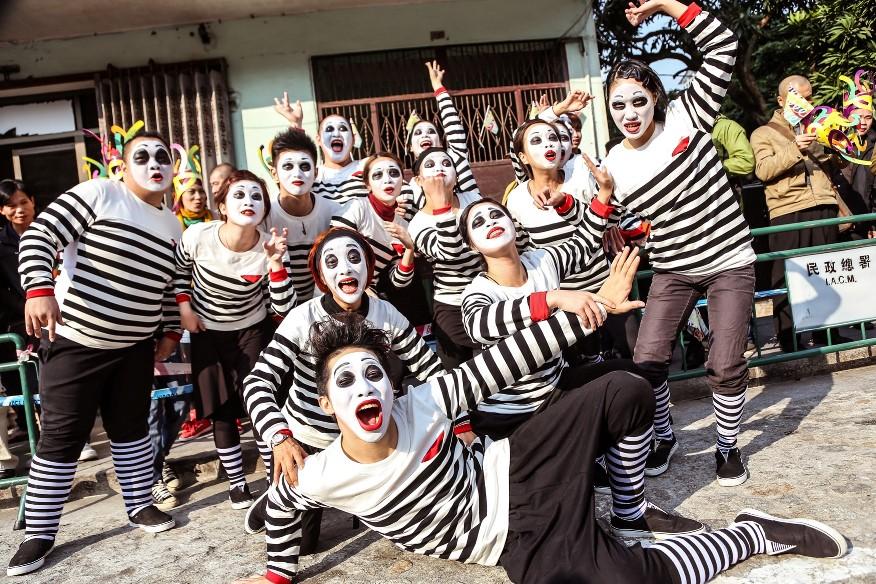 Macau Latin Parade- Pantomime Workshop