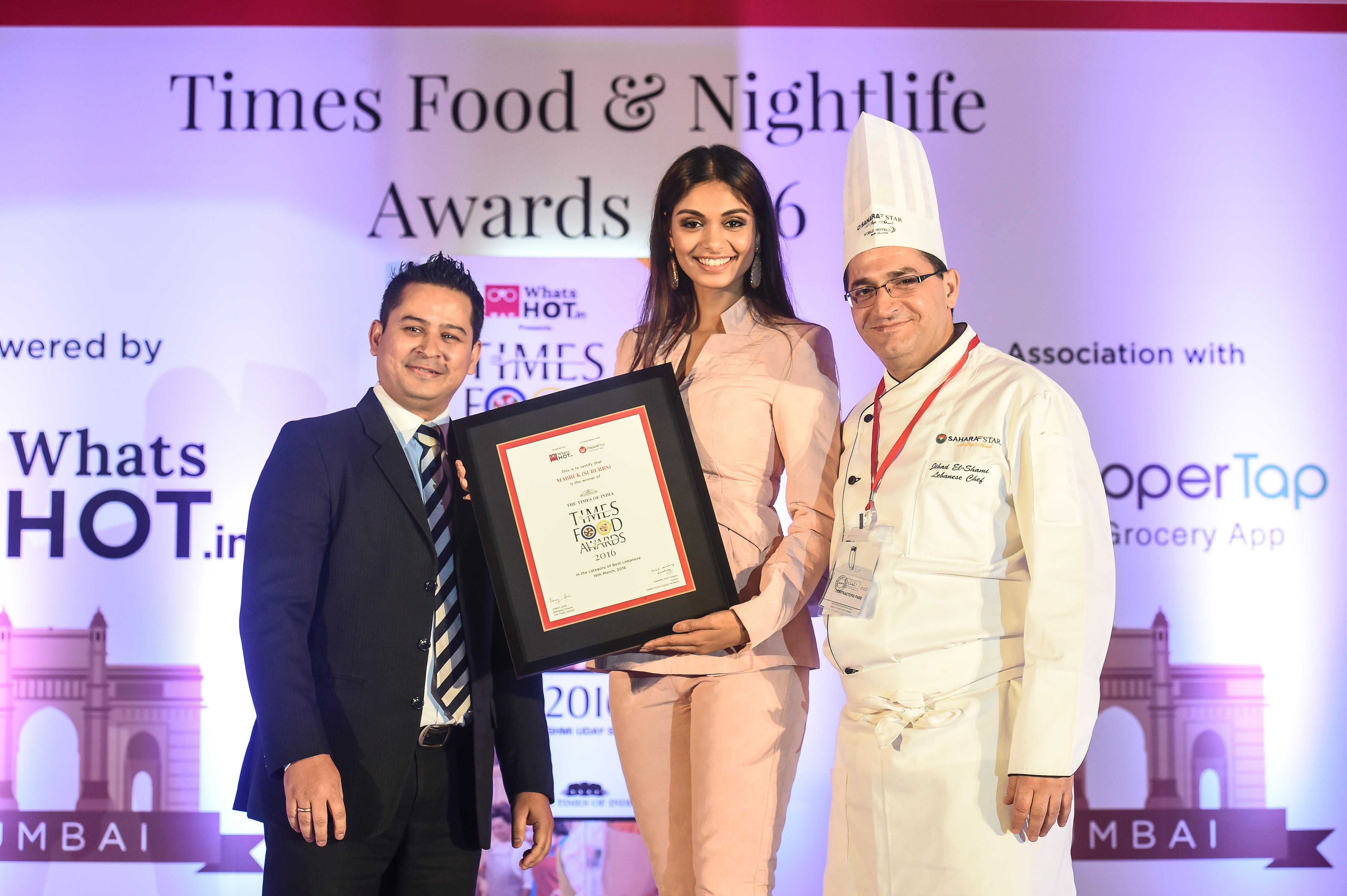 Times Food Awards 2016