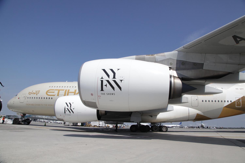 7 – Etihad Airways NYFW de-cal