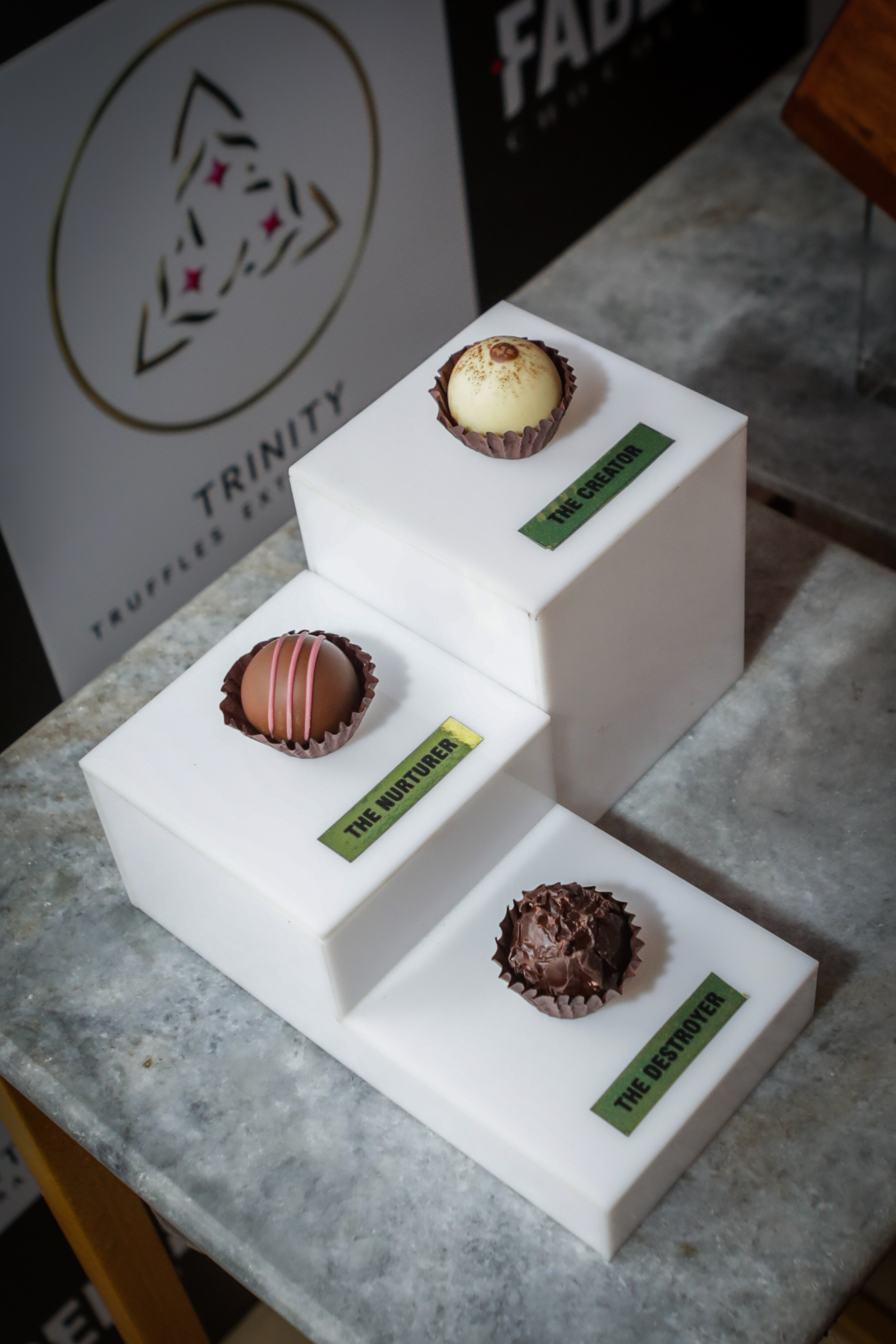 The Most Expensive Chocolate_Trinity – Truffles Extraordinaire' by ITC's Fabelle Exquisite Chocolates